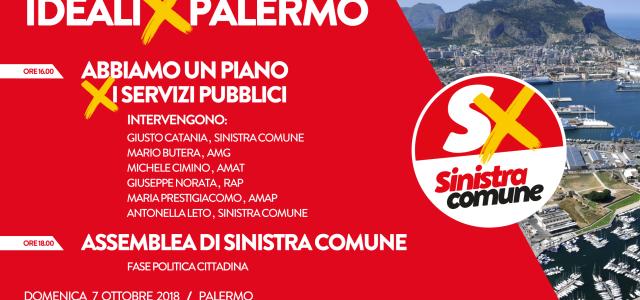 Domenica 7 ottobre doppio appuntamento di Sinistra Comune presso lo Spazio Franco ai Cantieri Culturali alla Zisa, Palermo. Alle ore 16 vi sarà un incontro con la presenza degli amministratori […]